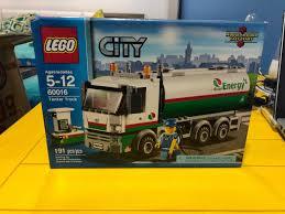 100 Lego City Tanker Truck 60016 81000 En Mercado Libre