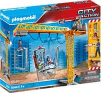 playmobil rc baukran mit bauteil