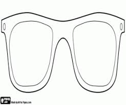 Eyeglasses To Disguise An Elegant Carnival Mask Coloring Page
