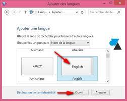 bureau de change en anglais changer la langue du clavier dans windows windowsfacile fr