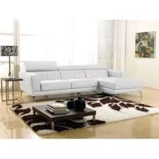la maison du canapé la maison du canapé canapé cuir angle oslo droit blanc 271cm x