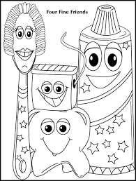 Pictures Dental Coloring Pages 99 With Additional For Kids Online