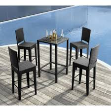 Outdoor bar furniture quality affordable stool & tables