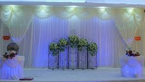 10FT20FT White Party Decoration Backdrop Curtain With Swag For DIY Drape Wedding Background