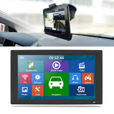 100 Gps Systems For Trucks 9 8GB GPS Navigation Capacitive Touch Screen SAT NAV For Car Truck HGV