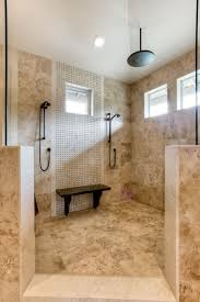 Beauteous Bathroom Tiles Texture Kids Room Model With Large Luxury Shower Rainfall Showerhead Glazed Porcelain