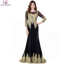 compare prices on grace karin gold evening dresses online