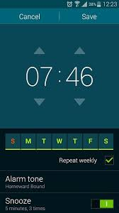 How to change the alarm volume level Android Forums at