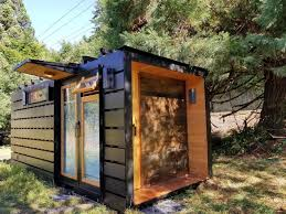 100 Shipping Container Studio This Tiny House Has A Toilet That Incinerates Poop Digital Trends