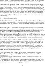100 Trucking Deregulation In The United States Submission By The