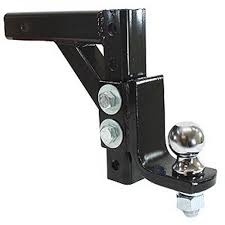 100 Hitch Truck 10 ADJUSTABLE TRAILER DROP BALL MOUNT HITCH TRUCK