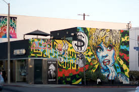 Famous Mural Artists Los Angeles by Alec Monopoly U0027s Graffiti Celebrity Portraits And Monopoly Man Are