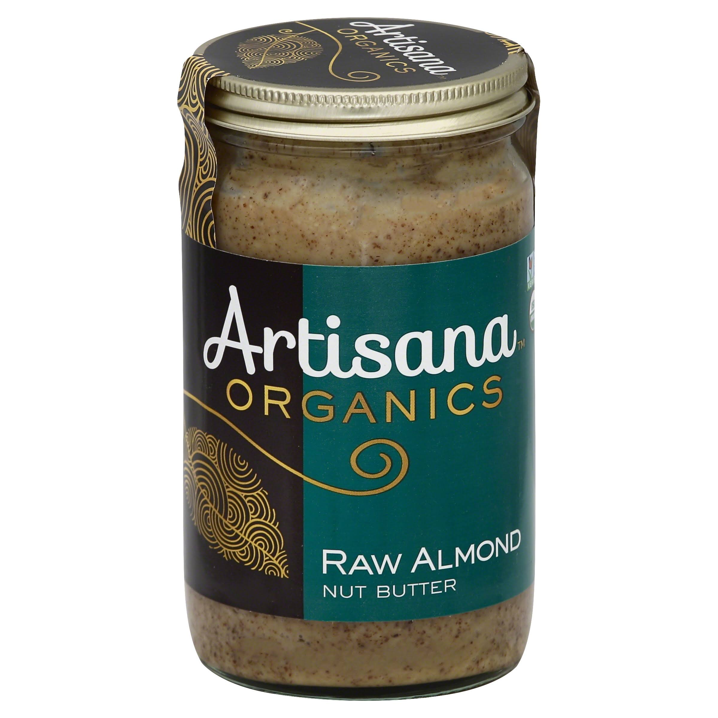 Artisana Organics Raw Almond Nut Butter - 14oz
