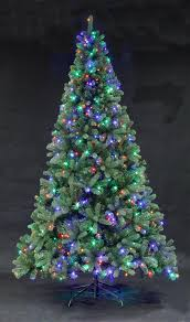 Fiber Optic Christmas Tree 7ft by The Devonshire Pre Lit Fir With Multi Colour Leds 4ft To 12ft