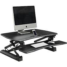 Standing Desk Top Extender Riser by Monitor Risers And Stands At Office Depot Officemax