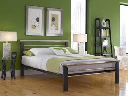 Wrought Iron And Wood King Headboard by Wooden And Metal California King Bed Frame Decofurnish