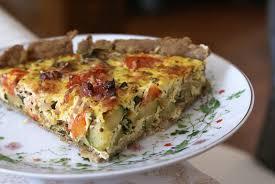 cuisine sans gluten et sans lait quiche aux légumes petits lardons pâte maison sans gluten ni