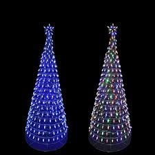 5 Ft Pre Lit Multicolor Christmas Tree by Home Accents Holiday 6 Ft Pre Lit Led Tree Sculpture With Star