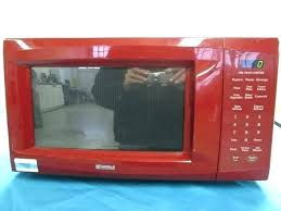 Red Kenmore Microwave Lot