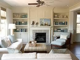 Living Room With Fireplace Design by Decorating Ideas For Living Room Built In Cabinets Around