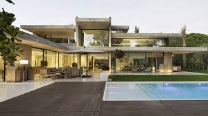 100 Glass Walled Houses EyeCatching House In Spain Amazes With Concrete Planes And Walls