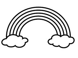 Free Printable Rainbow Cloud Coloring Page Kids Unicorn Pages For Adults Flying