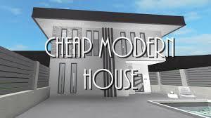 100 Cheap Modern House BLOXBURG 45k
