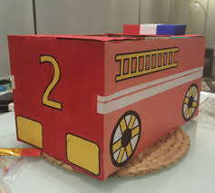 Cardboard Box Fire Truck Costume ✓ Cupboard Design Galleries