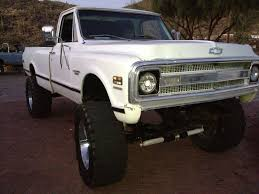 1970 Chevy CST K10 4x4 With 3/4 Ton Axels Rust Free Truck 69 70 71 ...
