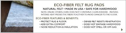 Felt Rug Pads For Hardwood Floors by Rug Pads For Hardwood Floors Natural Rug Pads