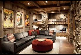 Image Of Rustic Living Room Decor