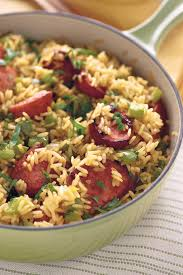 Quick And Easy Dinner Recipes Sausage Skillet N Rice