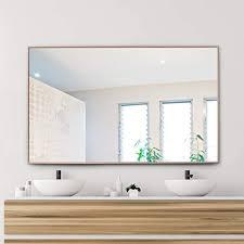 75 100 badezimmer wandspiegel rechteckige kosmetikspiegel