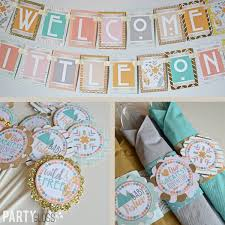 Boho Baby Shower Decorations Package Fully Assembled Modern Tribal Boho Chic Shower Bohemian Baby Shower Hippie Baby Shower Rustic