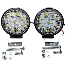 2pcs 18W Flood LED Light Round Bar Offroad Lights 4WD LED Driving ... Best Led Spotlights For Trucks Amazoncom Truck Lite Led Spot Light With Ingrated Mount 81711 Trucklite Rigid Industries D2 Pro Flush Mount Lights 1513 Senzeal 5d 90w 9000lm Cree Chip Flood Beam Offroad Work Great Whites Lights 4wds Cars 2x 4inch 1800lm 18wcree Led Bar Spotflood Lamp Green Hunting Fishing 10 Inch High Power For Vehicles 18w Cree Pod Fog Jeep Off Trucklitesignalstat 4x6 In 1 Bulb 1450 Lumen Black Rectangular 4 Inch 27w Round Amber Ligh 1030v Rund 35w Driving 3 Road Bars Trucks Offroad Sale