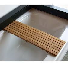 Teak Wood Bathtub Caddy by Bathroom Excellent Teak Wood Bathtub Shelf 109 Full Image For