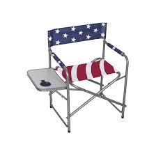MAHCO OUTDOORS DIRECTOR'S CHAIR – RED, WHITE & BLUE