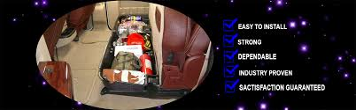 Pickup Truck Under Seat Storage - Pickup Truck Tool Boxes - Truck ...