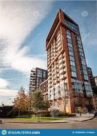 100 Contemporary Housing Nine Elms London Editorial Stock