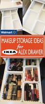 Walmart Desk Drawer Organizer by Walmart Makeup Storage Ideas For Ikea Alex Drawers Walmart