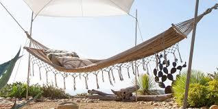 si e hamac des hamacs pour se prélasser au soleil