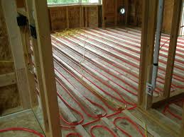 radiant floor heating in master suite addition general