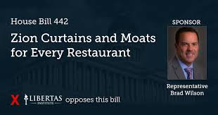 Zion Curtain Bill 2017 by Hb 442 Zion Curtains And Moats For Every Restaurant Libertas