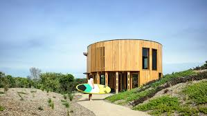 100 Beach House Architecture Austin Maynard Architects Creates Cylindrical Beach House In Australia