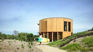 100 Beach House Landscaping Austin Maynard Architects Creates Cylindrical Beach House In