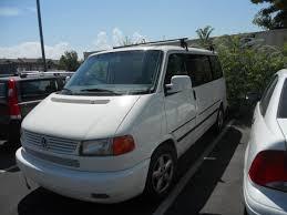 2003 Volkswagen Eurovan White Gasoline FWD Automatic