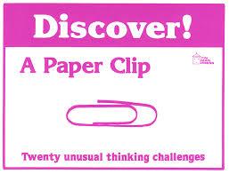 Discover A Paper Clip Card Set Enrichment Warm Up Activities For Teachers