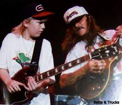 14 YO Derek Trucks At The Big House | Music | Pinterest | Derek ...