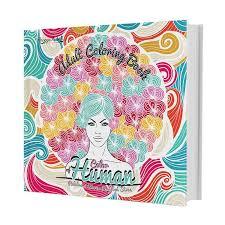 Huta Paint Adult Coloring Book Color Of Human Buku Art
