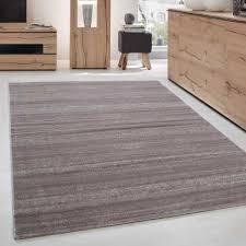 teppich modern kurzflor wohnzimmer teppiche einfarbig uni beige meliert